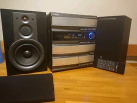 Yamaha GX-700 stereo system