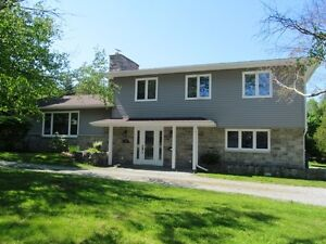 Rothesay executive home , backs on  2nd Fairway of golf course!