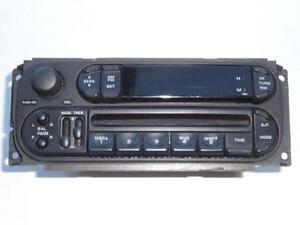 DODGE CARAVAN CHRYSLER TOWN & COUNTRY 2001-2007 RADIO CD PLAYER