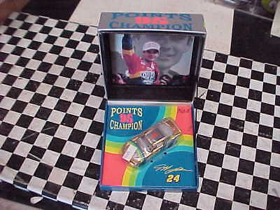 Jeff Gordon 95 Points Champ Gold Very Hard To Find Lqqk Gold Car With Pic Neat