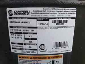Campbell Hausfeld 60 Gal compressor - Brand New Kitchener / Waterloo Kitchener Area image 2