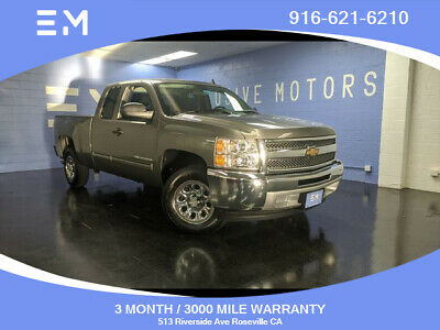 2013 Chevrolet Silverado 1500 LS Pickup 4D 6 1/2 ft 2013 Chevrolet Silverado 1500 Extended Cab, Charcoal with 154178 Miles available