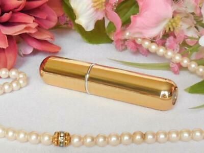 Travel Refillable Conveniet Empty Atomizer Perfume Bottle - Shiny Gold - 5 ml Gold Perfume Atomizer