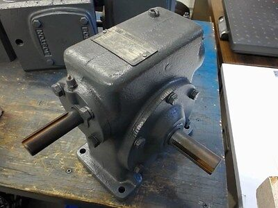Winsmith 4ct 401 Ratio Right Angle Gear Reducer Input- 1.04 Hp 1800 Rpm