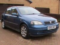 VAUXHALL ASTRA 1.4 16V ENJOY 5 DR BLUE I YRS MOT CLICK ON VIDEO LINK TO SEE AND HEAR MORE ABOUT CAR