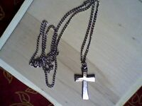 CROSS NECKLACE - NEW/UNUSED