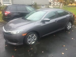 2016 Honda Civic LX Sedan