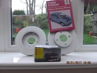 Brake Pads and Discs - new and unused