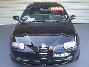 2004 Alfa Romeo 147 TI Black 5 Speed Manual Hatchback Clyde Parramatta Area Preview