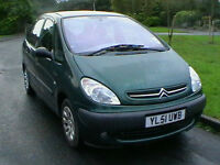 51 REG CITROEN PICASSO 1.8 SX 5 DOOR MPV ESTATE ONLY 59000 MILES HPI CLEAR