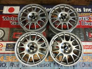 JDM BBS RG393 FORGED WHEELS MAGS ONLY 5X114.3 OFFSET 45 18X7.5JJ