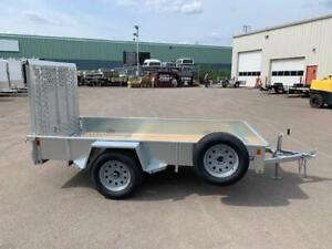 "2019 SURE-TRAC 60"" x 10' UTILITY TRAILERS"