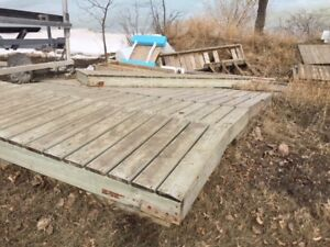 Wooden Dock for sale