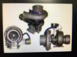 DETROIT DIESEL SERIES 60 TURBOCHARGER 23539570