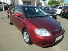 2005 Toyota Corolla ZZE122R Ascent Maroon 4 Speed Automatic Sedan Coopers Plains Brisbane South West Preview