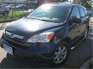 2009 Honda CR-V EX 4 CYL 4WD CERTIFIED! INSTANT APPROVAL!
