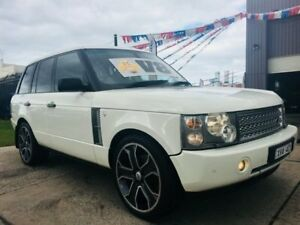 2003 Land Rover Range Rover HSE White 5 Speed Automatic Wagon Brooklyn Brimbank Area Preview