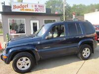 FRESH TRADE IN 2004 JEEP LIBERTY LTD $3995 429 2OTH ST WEST