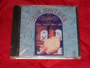 Three Great, Pristine, Long Out-Of-Print Slim Whitman Hymns CDs!