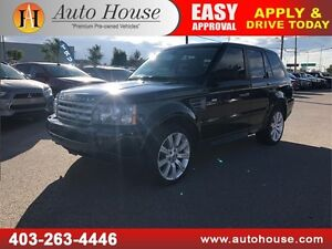 2009 Land Rover Range Rover Sport Supercharged LEATHER ROOF DVD