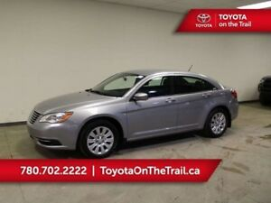 2014 Chrysler 200 LX; LOW KM, AUTOMATIC, AIR CONDITIONING, CRUIS