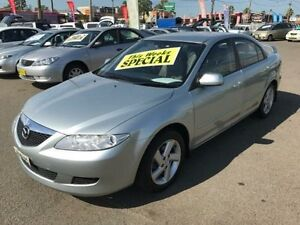 2003 Mazda 6 GG Classic Silver 5 Speed Manual Hatchback Lansvale Liverpool Area Preview