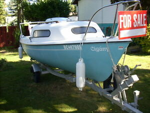 Siren Sailboat for Sale (5hp outboard motor optional)