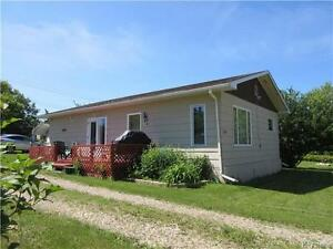 Private yard with 2 BR bungalow on huge corner lot in Birtle MB