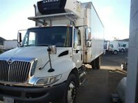 2009 International 4300 4x2, Used Reefer Van