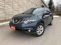 2012 Nissan Murano SL/AWD/Pano Roof/Leather Seat/BOSE/Rear Cam City of Toronto Toronto (GTA) Preview