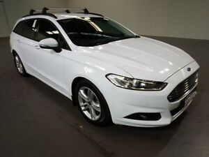 2015 Ford Mondeo MD Ambiente Tdci White 6 Speed Automatic Wagon Bibra Lake Cockburn Area Preview