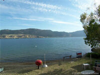 2 side by side vacant waterfront lots on Okanagan Lake