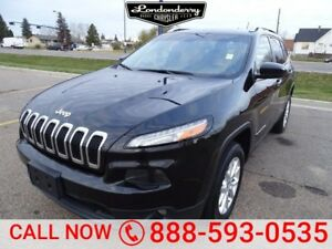 2014 Jeep Cherokee 4WD NORTH Accident Free,  Bluetooth,  A/C,