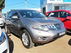 2010 Nissan Murano Z51 ST Silver, Chrome Constant Variable Wagon Minchinbury Blacktown Area Preview