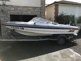 Fletcher Arrowbeau mercury 150hp outboard