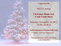 NECF's annual Christmas Home and Craft Trade Show
