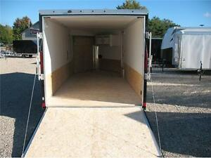 2017 Ameralite 7x21 drive in/drive out snowmobile trailer London Ontario image 2