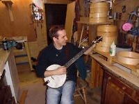 5 string banjo lessons in the borders!