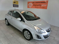 2011 Vauxhall/Opel Corsa 1.0i 12v a/c ecoFLEX ***BUY FOR ONLY £24 A WEEK***