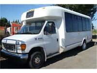 2006 FORD ECONOLINE CUTAWAY 20 PASS BUS 208K ONLY $9,800.