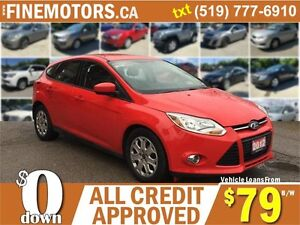 2012 FORD FOCUS SE HATCHBACK * EASY ON GAS * FINANCING AVAILABLE
