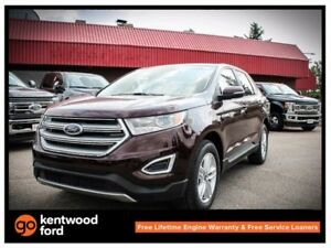 2017 Ford Edge SEL 201A 2.0L ecoboost AWD qith NAV, foot active