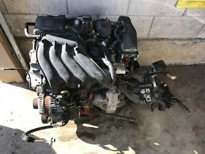 2015 Nissan Micra Engine with Manual Transmission