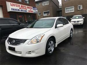 2012 Nissan Altima 2.5 S, LEATHER, SUNROOF, BACK UP CAMERA