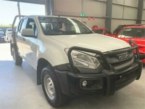 2017 Isuzu D-MAX MY17 SX Crew Cab White 6 Speed Manual Cab Chassis Boolaroo Lake Macquarie Area Preview