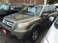 2007 Honda Pilot EX-L-AWD-LEATHER-WE FINANCE 100% APPROVED