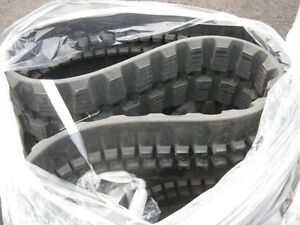 Unused Rubber Track Sets for mini-Excavators