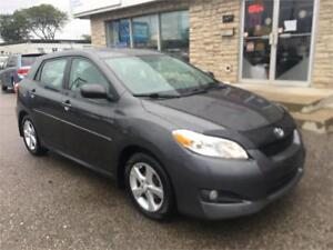 2012 Toyota Matrix sunroof