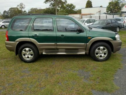 2002 Mazda Tribute Classic Green 4 Speed Automatic 4x4 Wagon Deception Bay Caboolture Area Preview