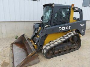 2013 John Deere 323D Skid Steer